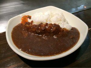 牛筋カレー(000円)